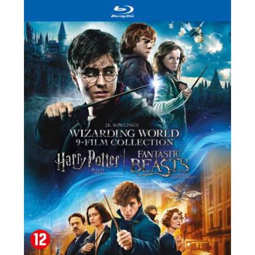 Harry Potter 1-8 + Fantastic beasts 1 (Blu-ray) kopen