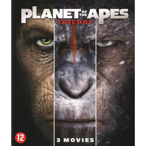 Planet of the apes 1-3  (Blu-ray)