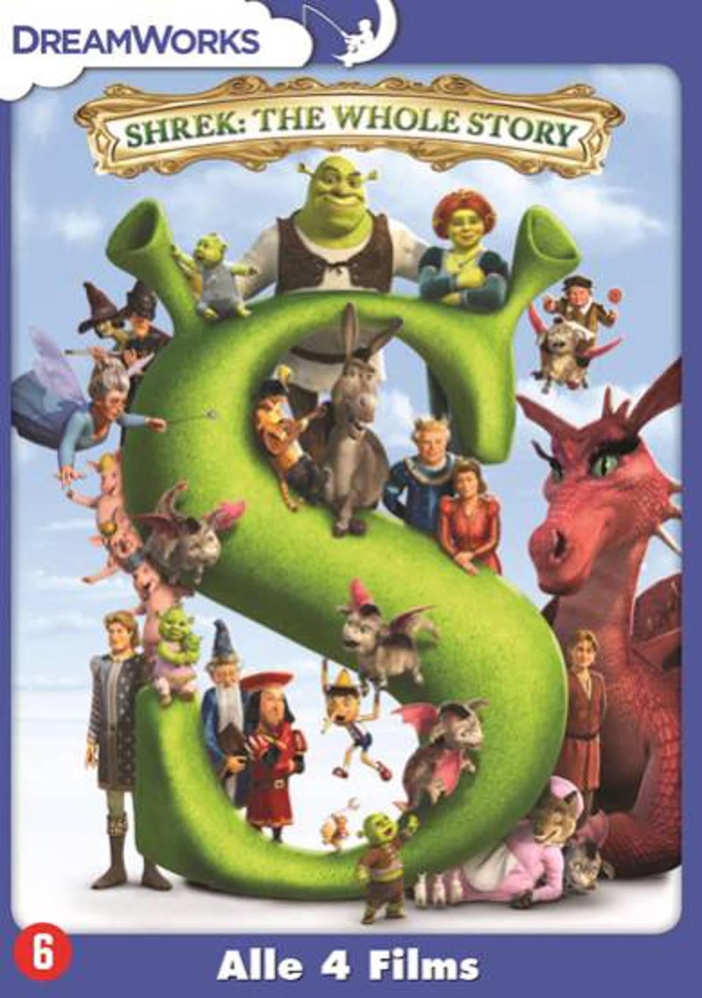 Shrek quadrilogie (DVD)
