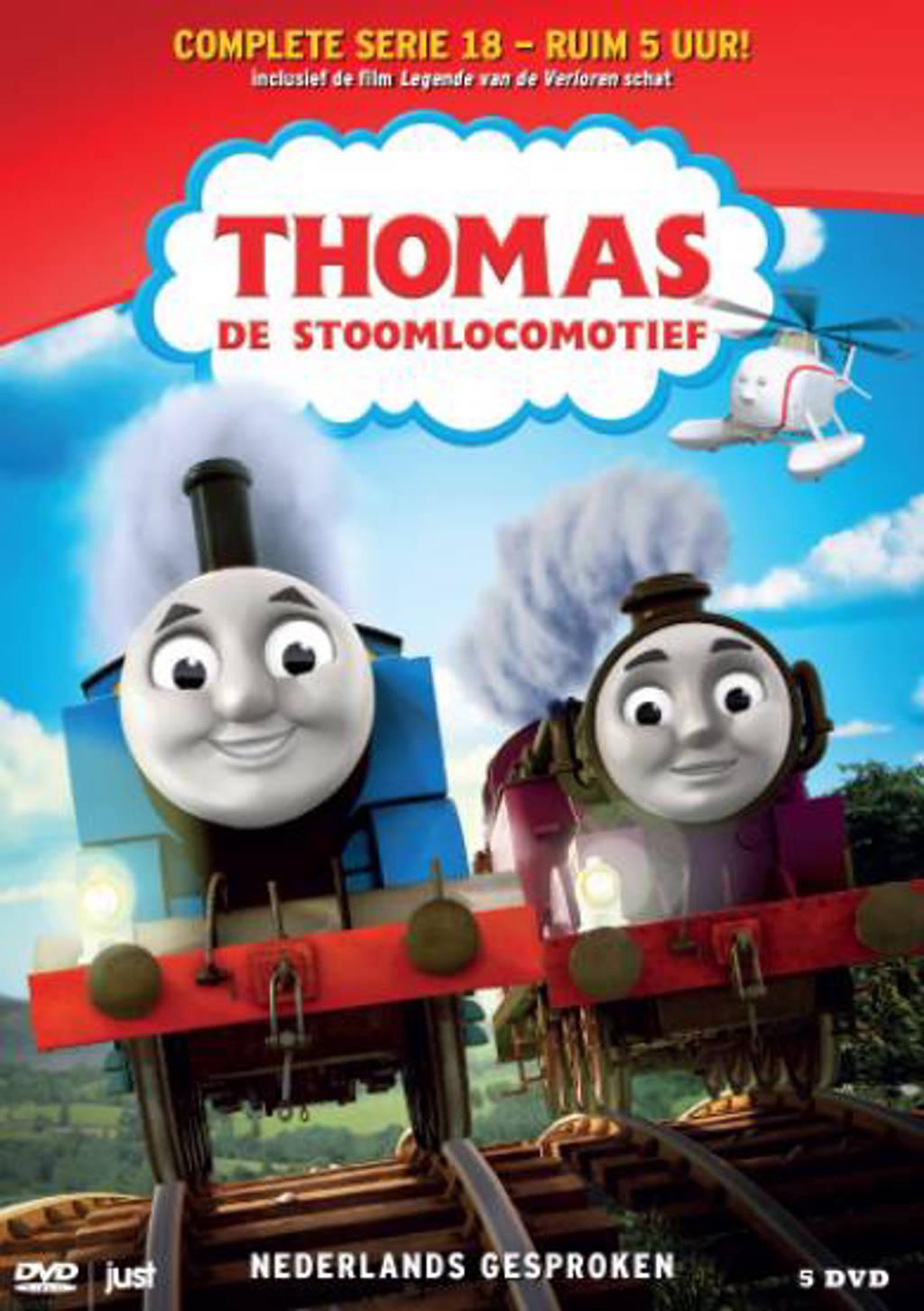 Thomas de stoomlocomotief 18 (DVD)