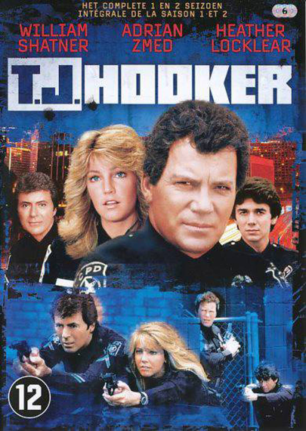 TJ Hooker - Seizoen 1 & 2 (DVD)
