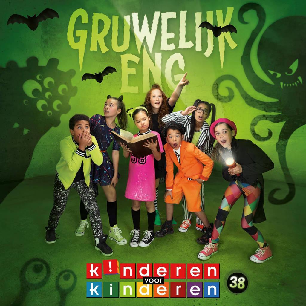 Kinderen voor Kinderen - Deel 38 Gruwelijk eng! (CD)