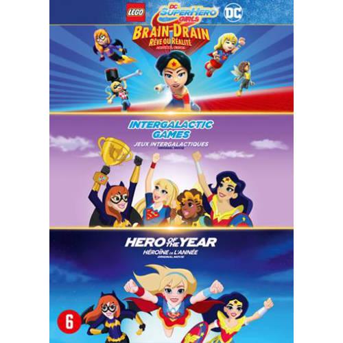 DC super hero girls 1 & 2 + Lego DC super hero girls (DVD) kopen