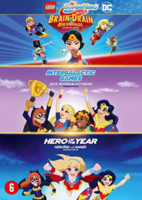 DC super hero girls 1 & 2 + Lego DC super hero girls (DVD)