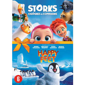 Storks + Happy feet (DVD)