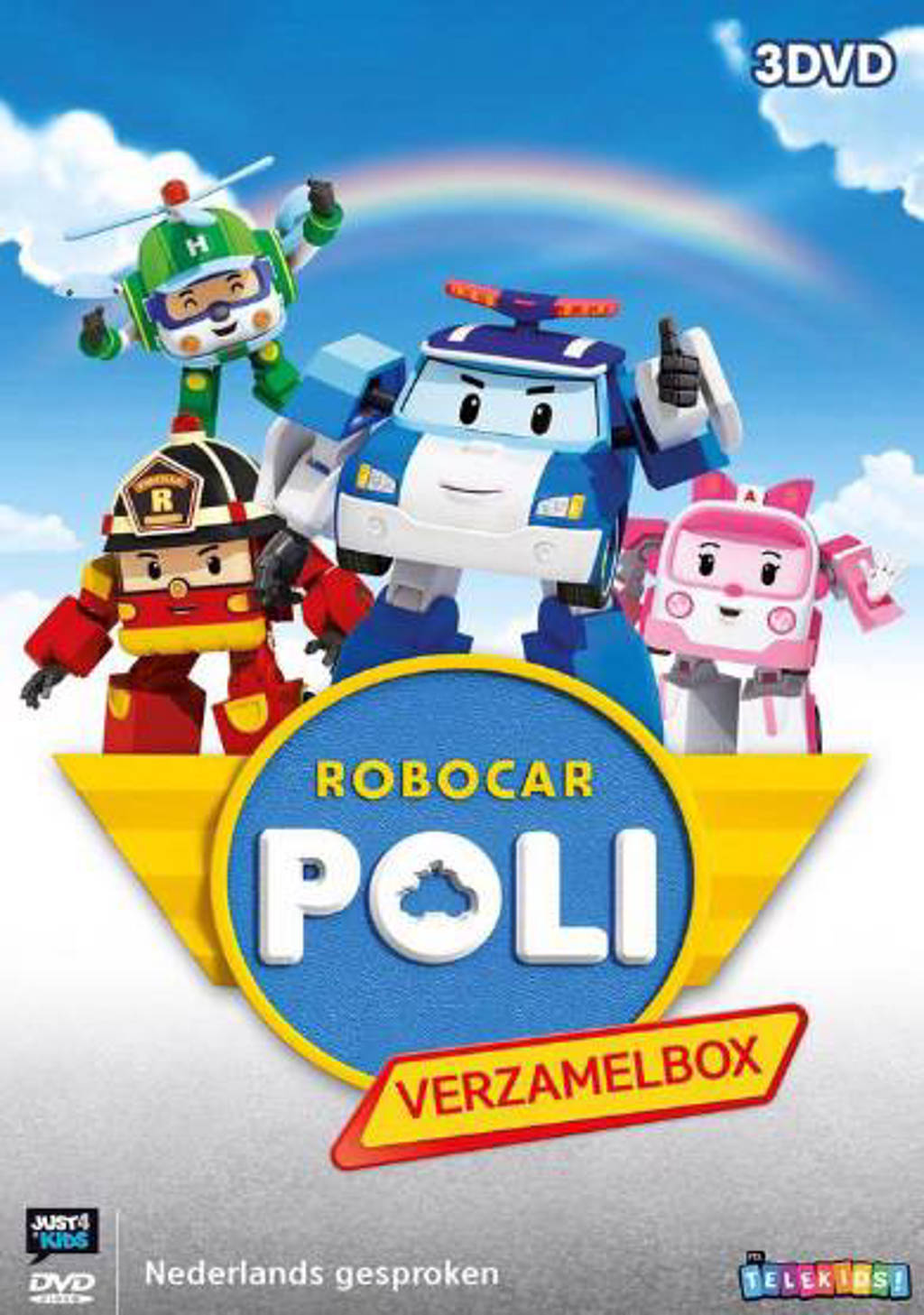 Robocar poli 1-3 (DVD)