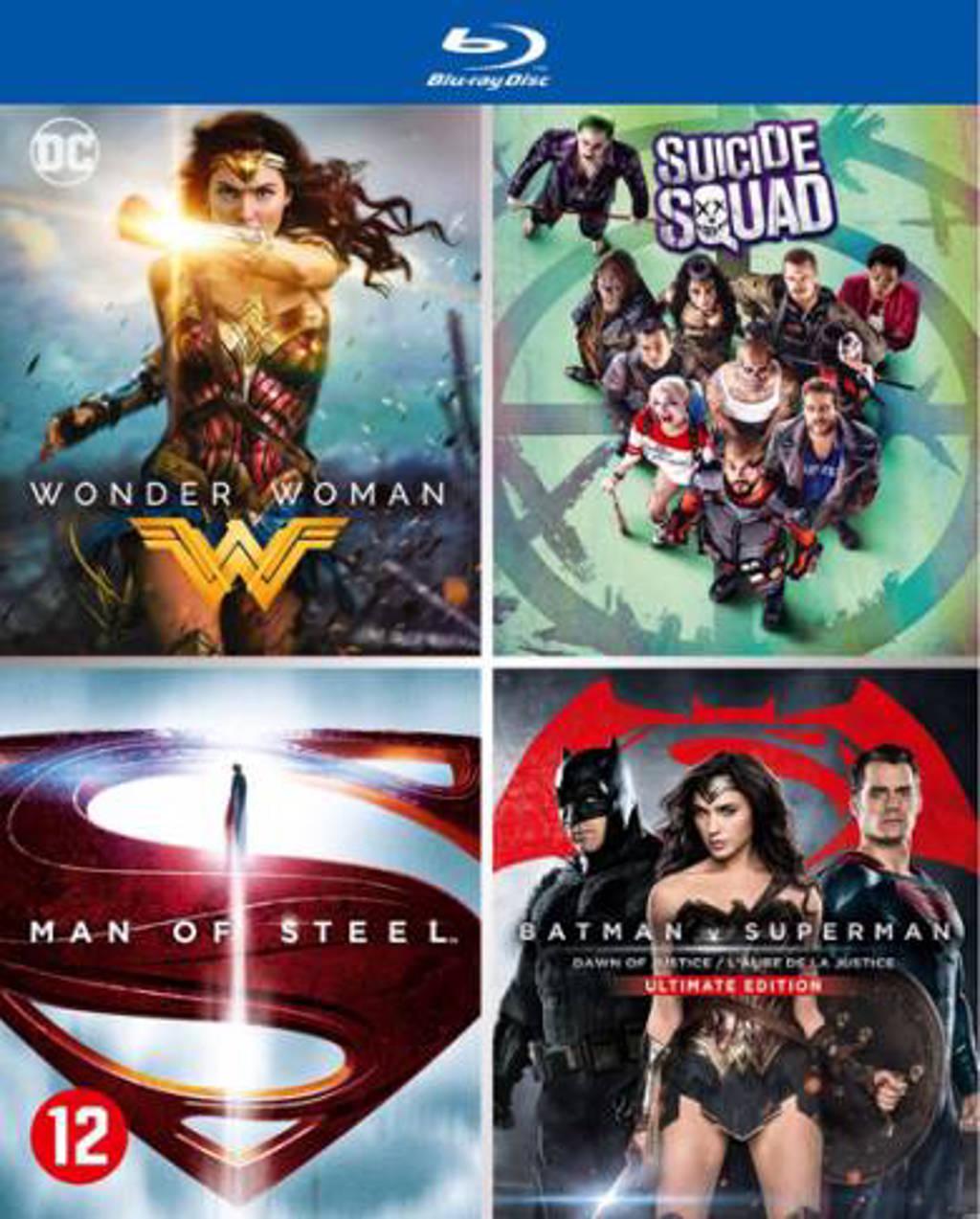 DC comics movie collection (Blu-ray)