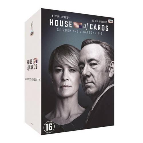 House of cards - Seizoen 1-5 (DVD) kopen