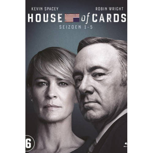 House of cards - Seizoen 1-5 (Blu-ray) kopen