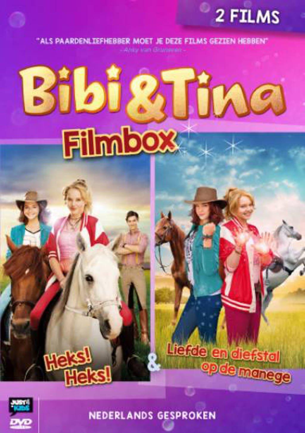 Bibi & Tina - Heks! Heks! & Liefde en diefstal op de manege (DVD)