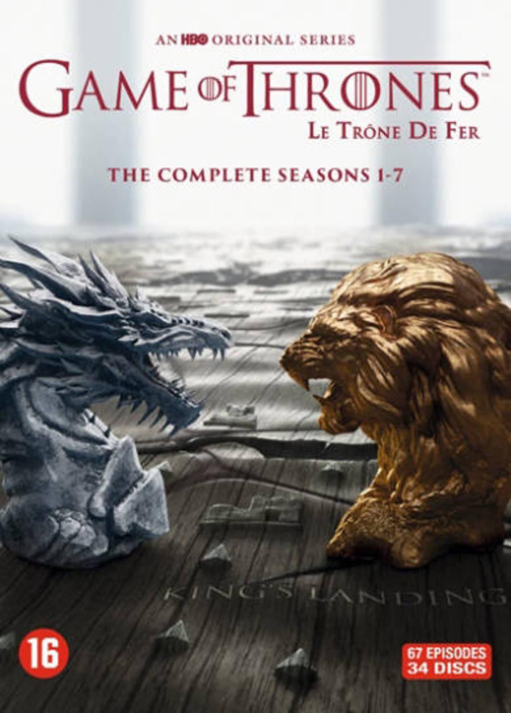 Game of thrones - Seizoen 1-7 (DVD)