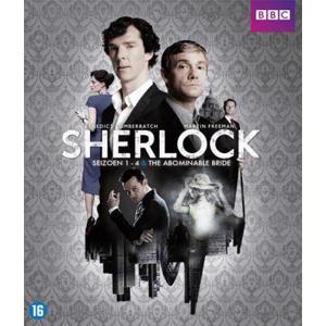 Sherlock - Seizoen 1-4 + The abominable bride (Blu-ray)