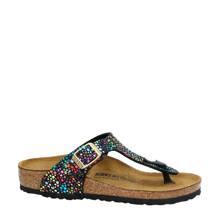 Gizeh slippers met metallics