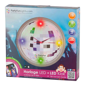 LED wandklok