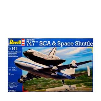 Boeing 747 SCA & Space Shuttle schaal 1:144