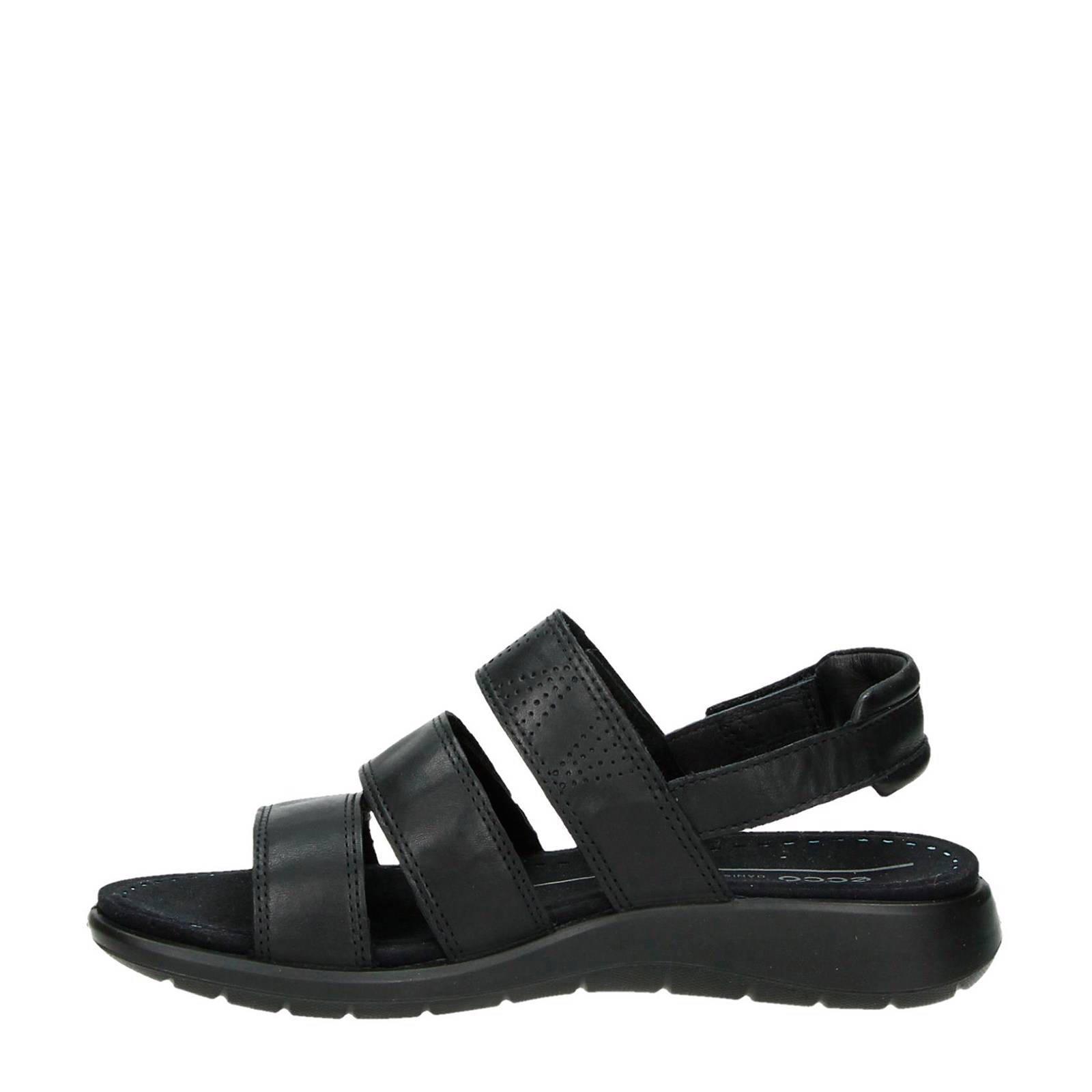 Soft 5 leren sandalen