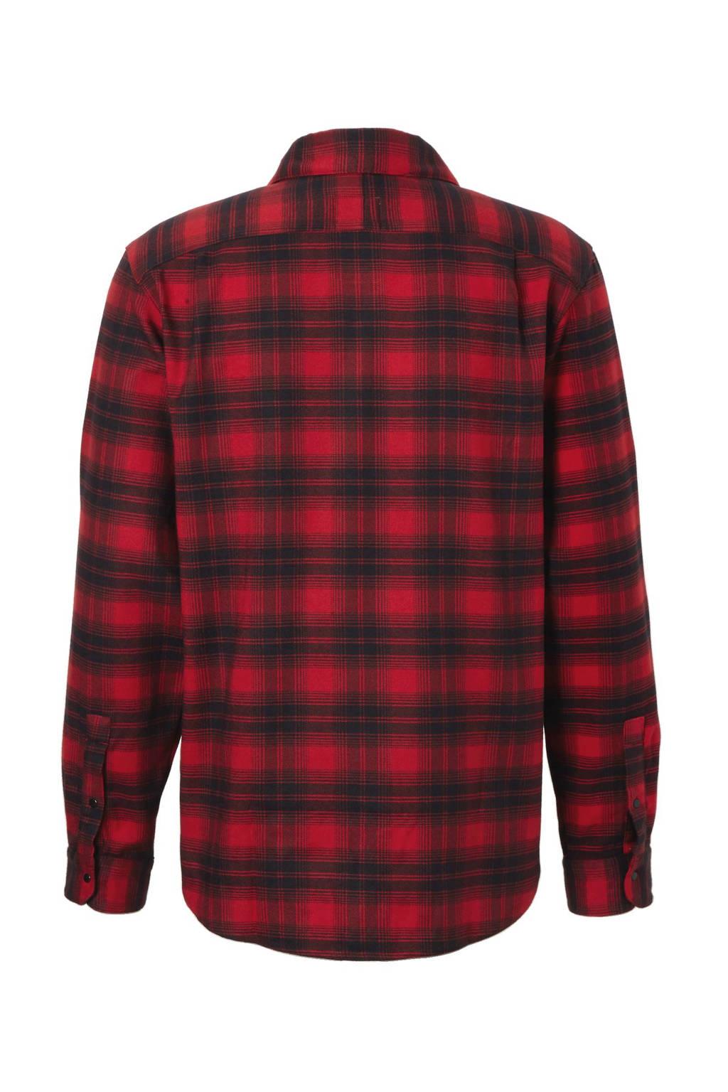 Overhemd Rood Zwart.Adidas Performance Flanellen Overhemd Wehkamp