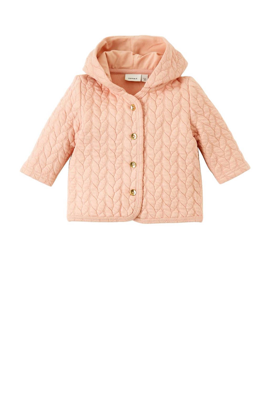 name it BABY newborn vest, Zalmroze