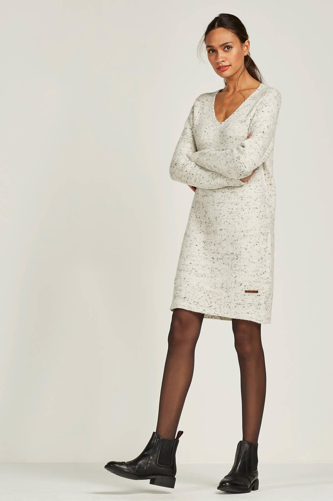 gebreide tuniek jurk