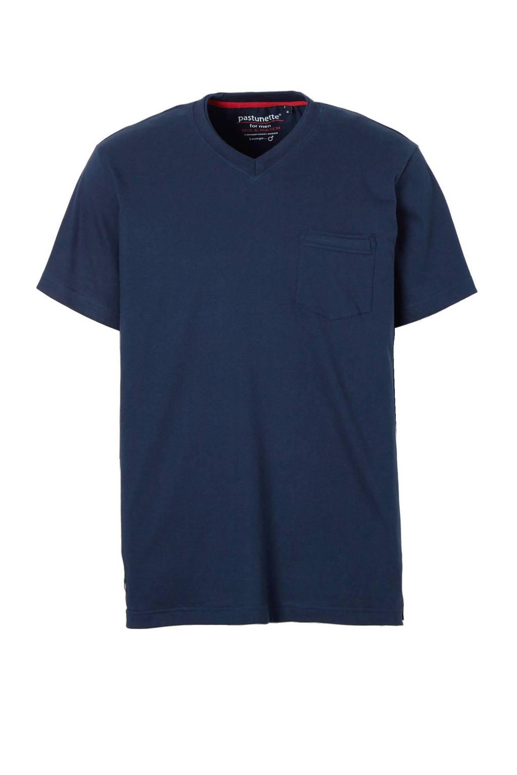 Pastunette for men pyjamatop, Blauw