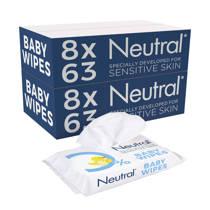 Neutral Baby billendoekjes - 16x63 doekjes - parfumvrij
