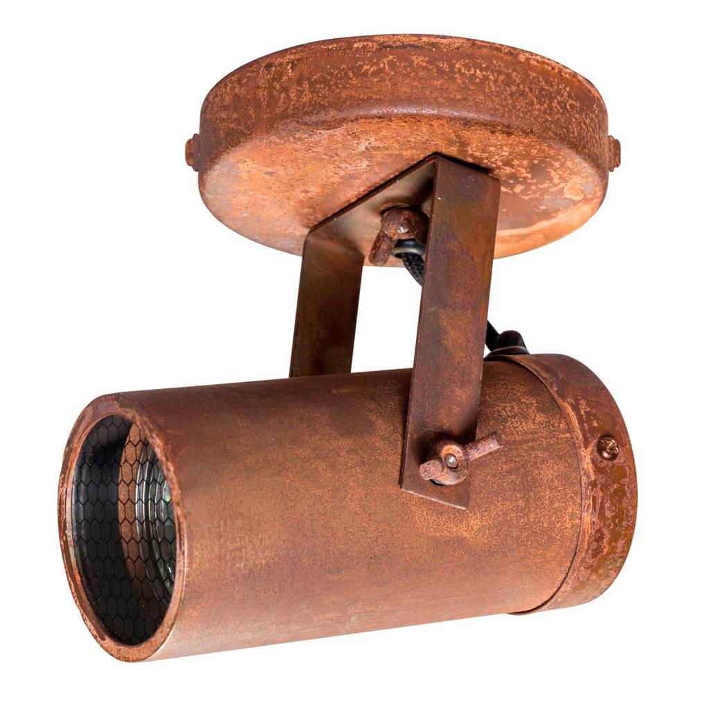 Dutchbone plafondspot Scope-1, Roest