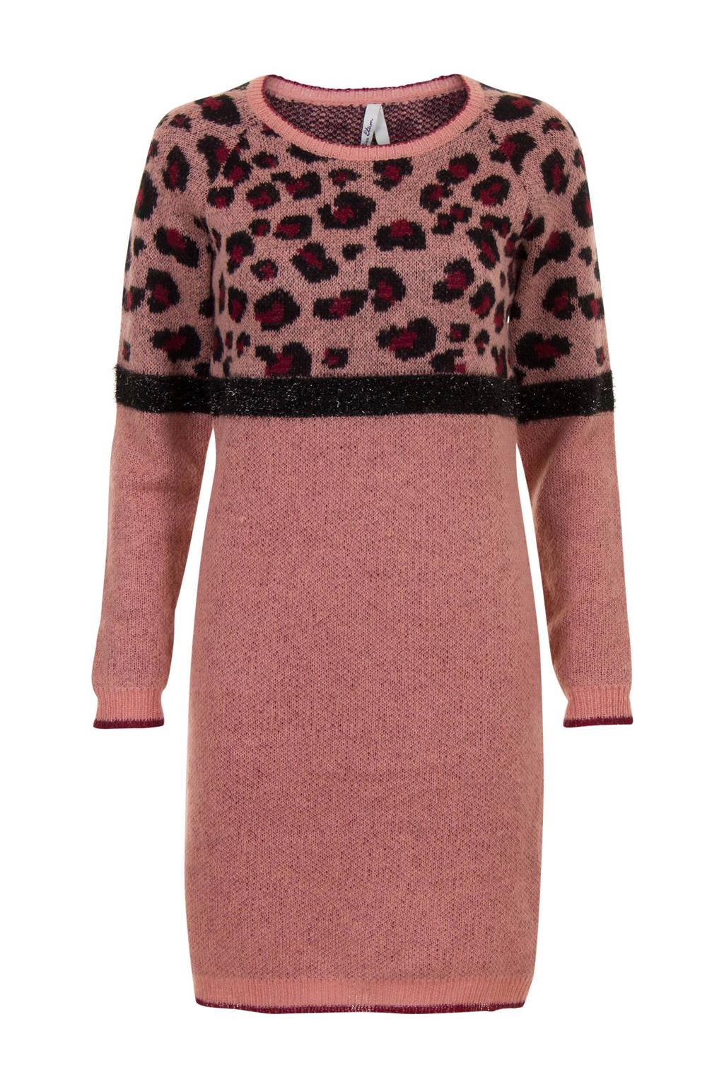 e64da42a10a328 Miss Etam Regulier jurk met mohair