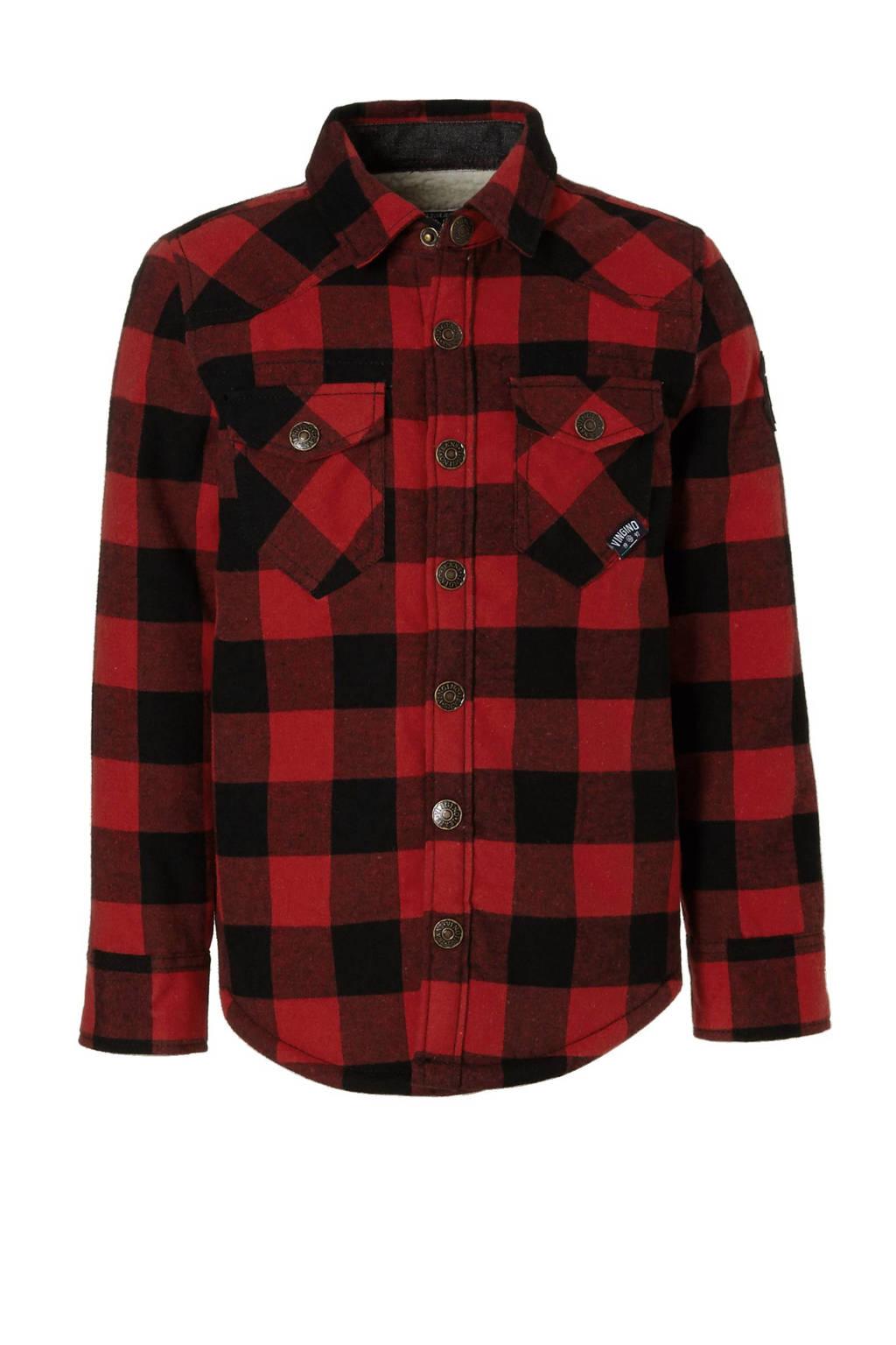 Flanellen Overhemd.Vingino Gevoerd Flanellen Overhemd Wehkamp