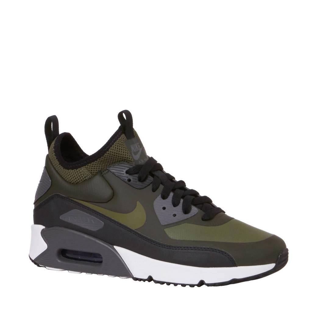 san francisco d5778 9371a Nike Air Max 90 Ultra Mid Winter sneakers, Groenzwartgrijs