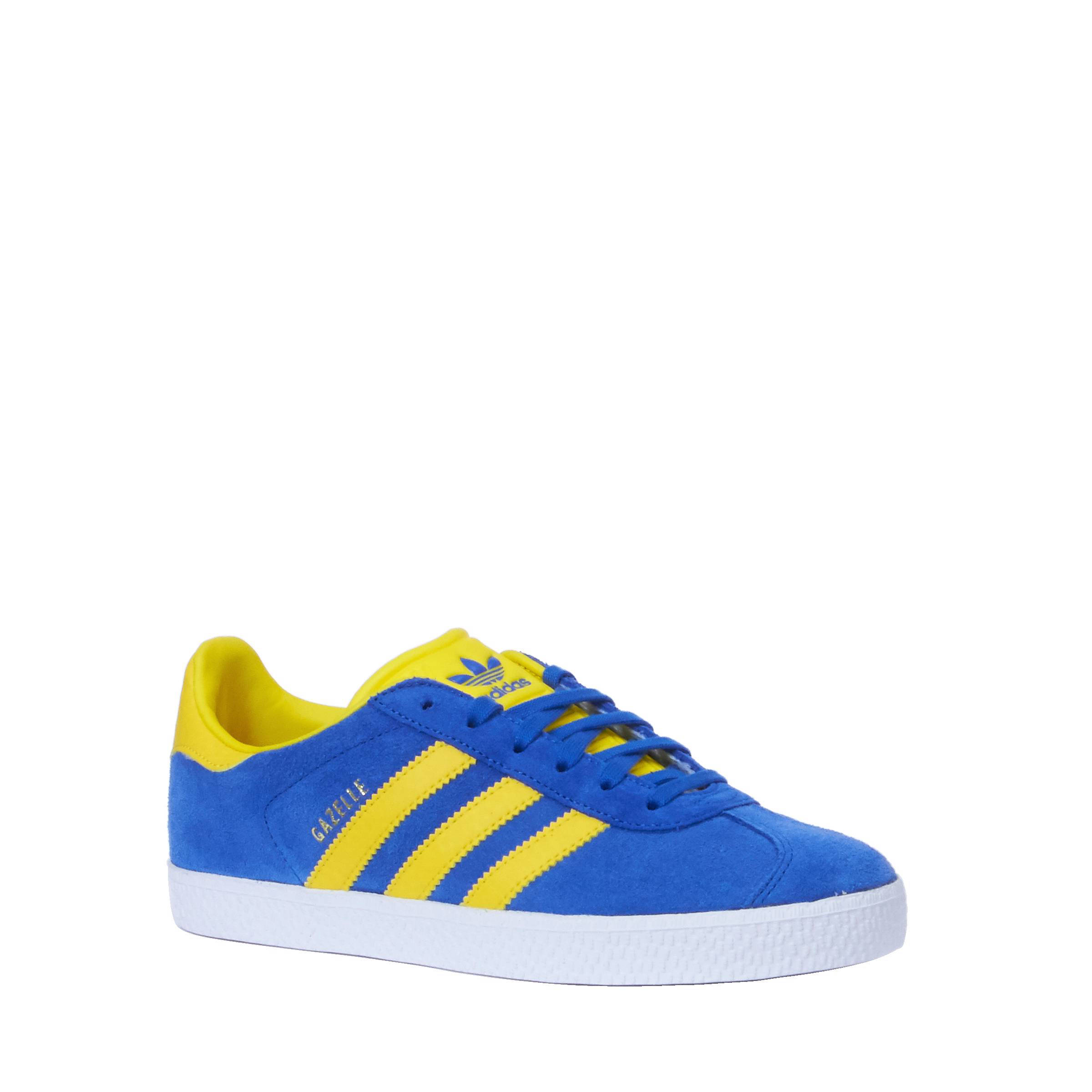adidas gazelle og blauw yellow