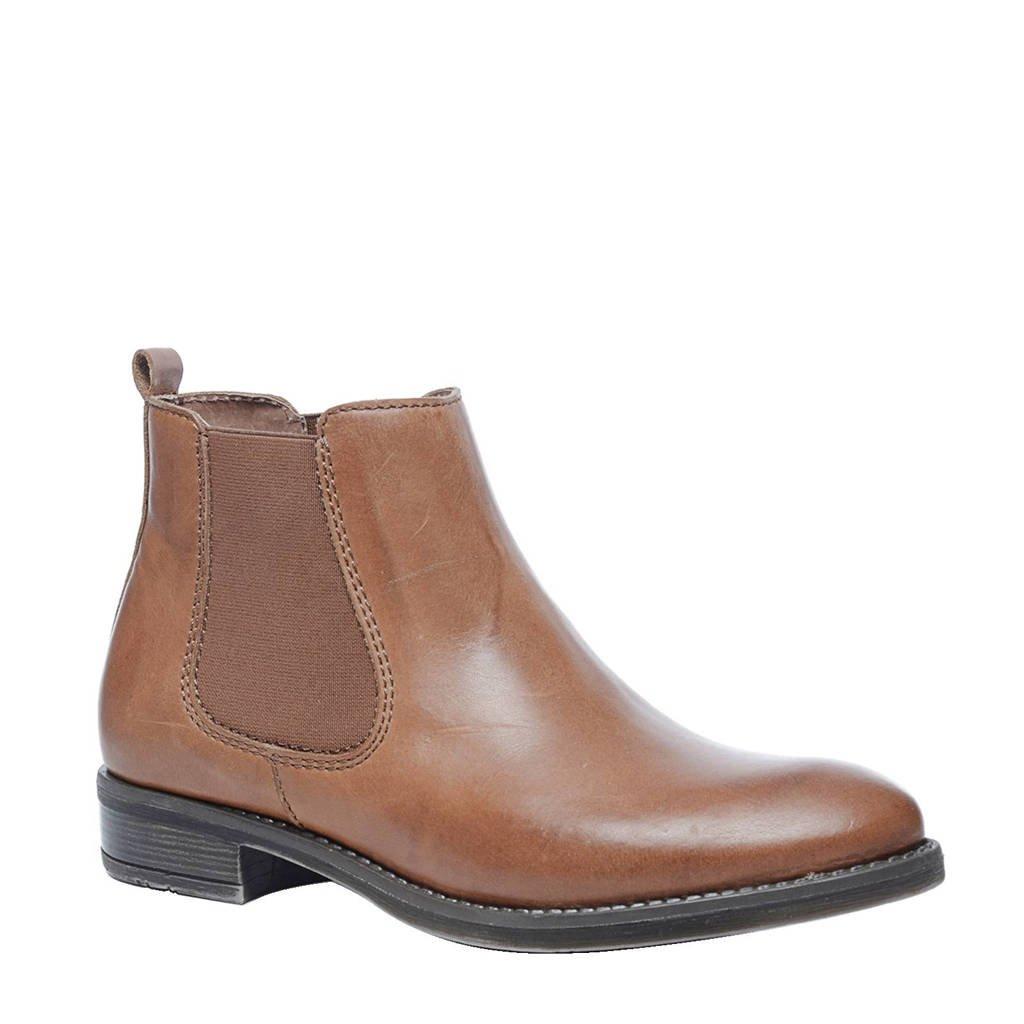 Sacha leren chelsea boots, Bruin