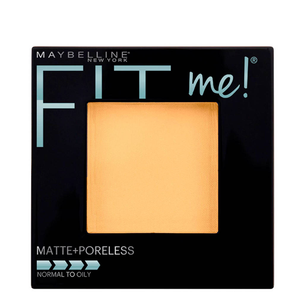 Maybelline New York Fit Me Matte & Poreless 120 Classic Ivory  - poeder