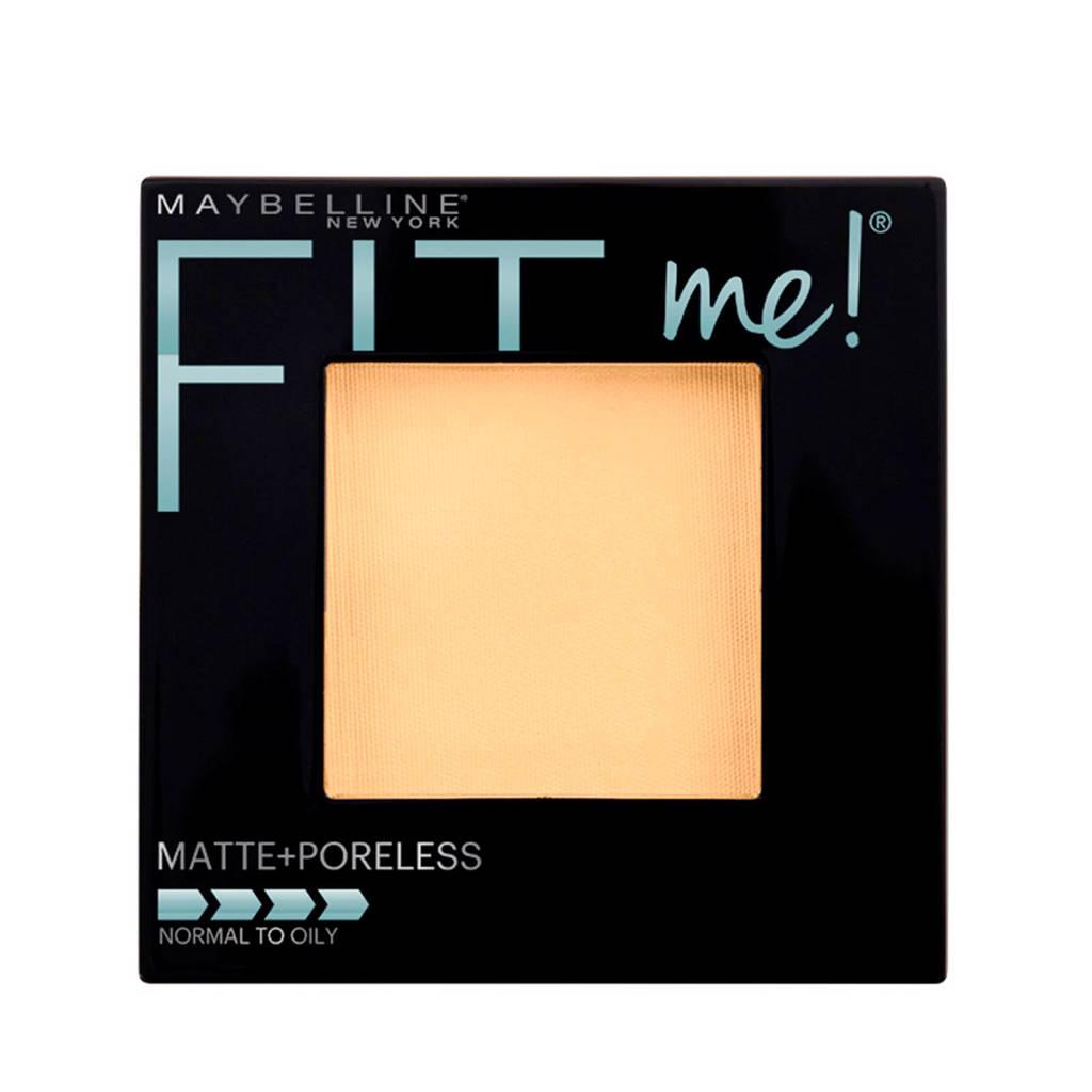 Maybelline New York Fit Me Matte & Poreless 105 Natural Ivory- poeder