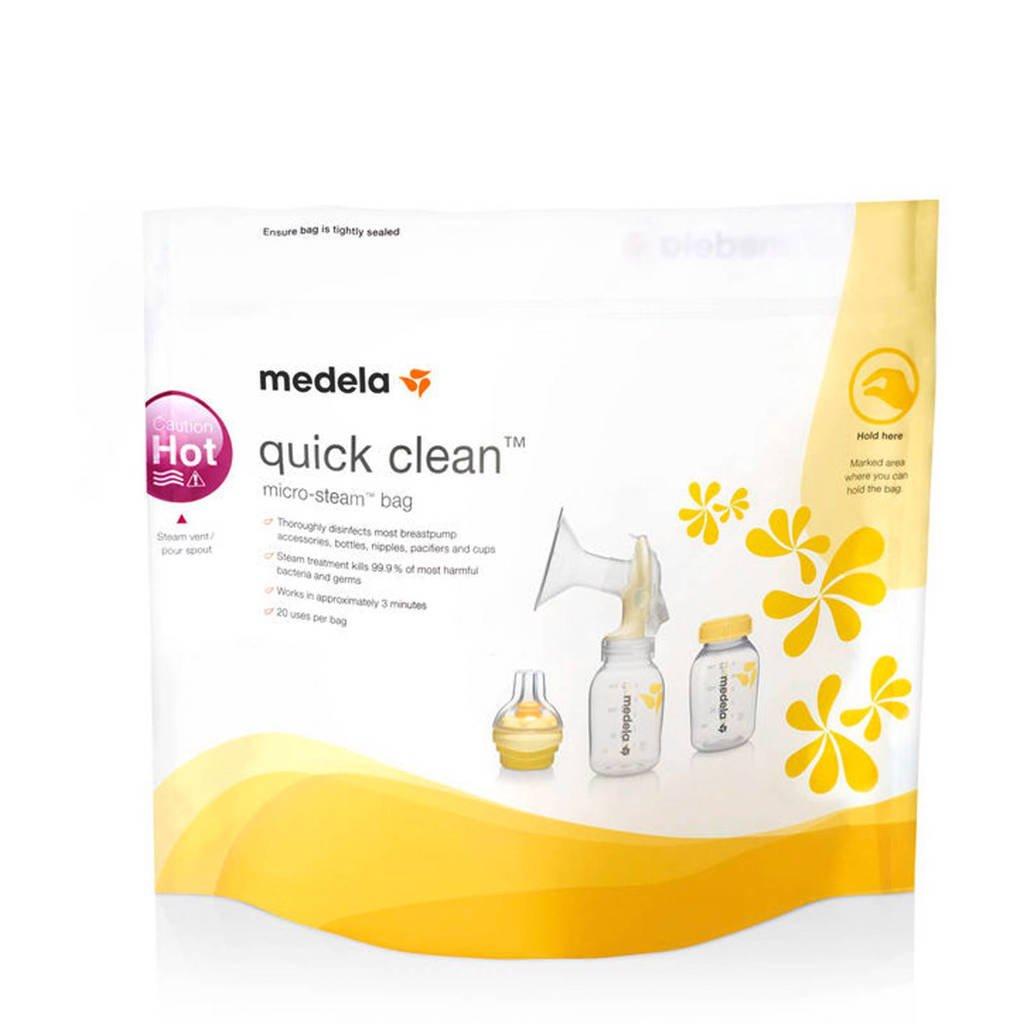 Medela Quick Clean Magnetron sterilisatiezakjes (5 stuks), Transparant