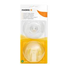 Contact tepelhoedjes L (24 mm) inclusief bewaardoosje (2 stuks)