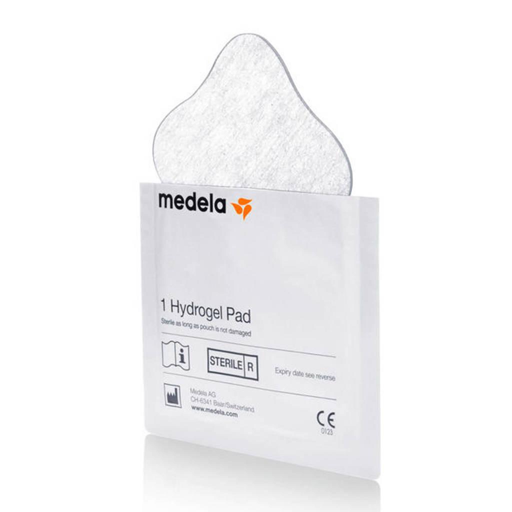 Medela Hydrogel Pads voor verzachting bij pijnlijke tepels of tepelkloven (4 stuks), Transparant