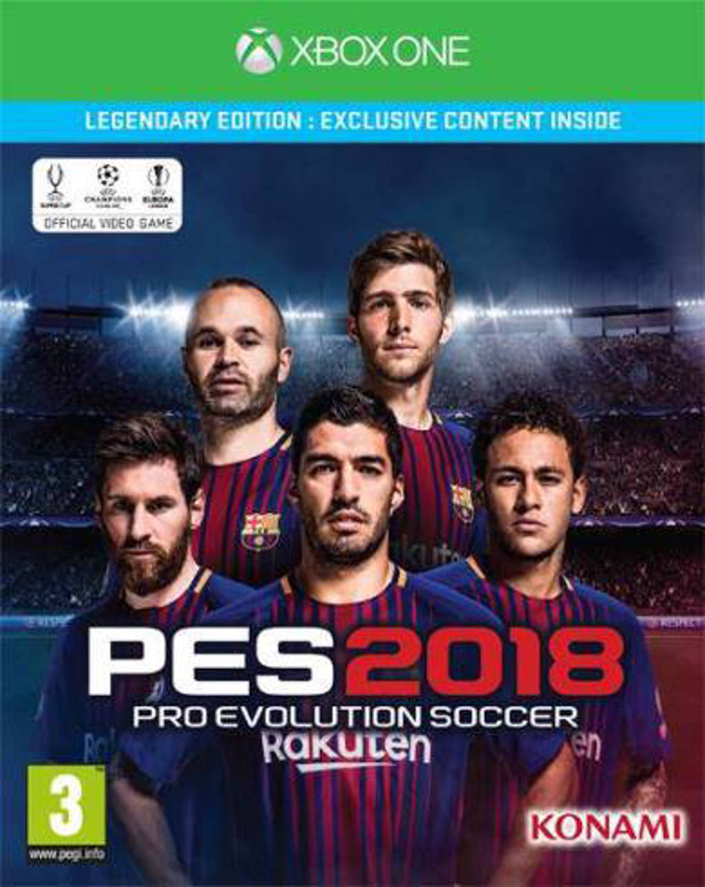 Pro evolution soccer 2018 (Legendary edition) (Xbox One)