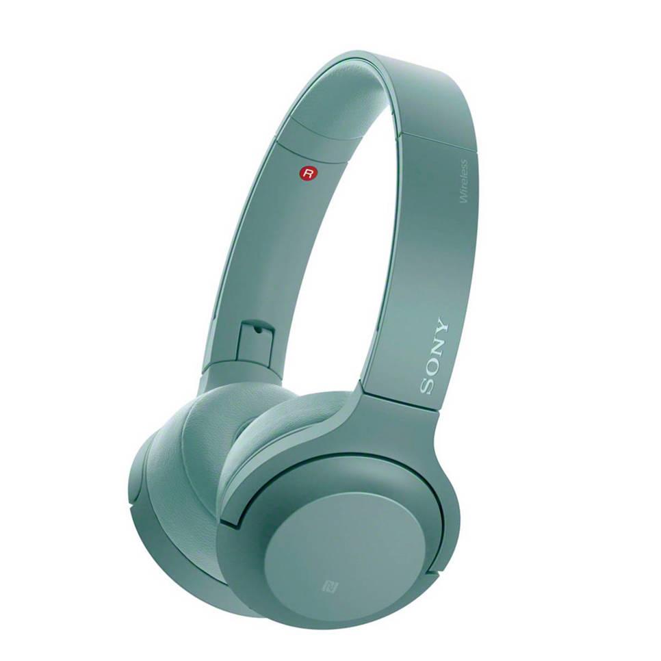 Sony On-ear bluetooth koptelefoon WH-H800 groen, Groen