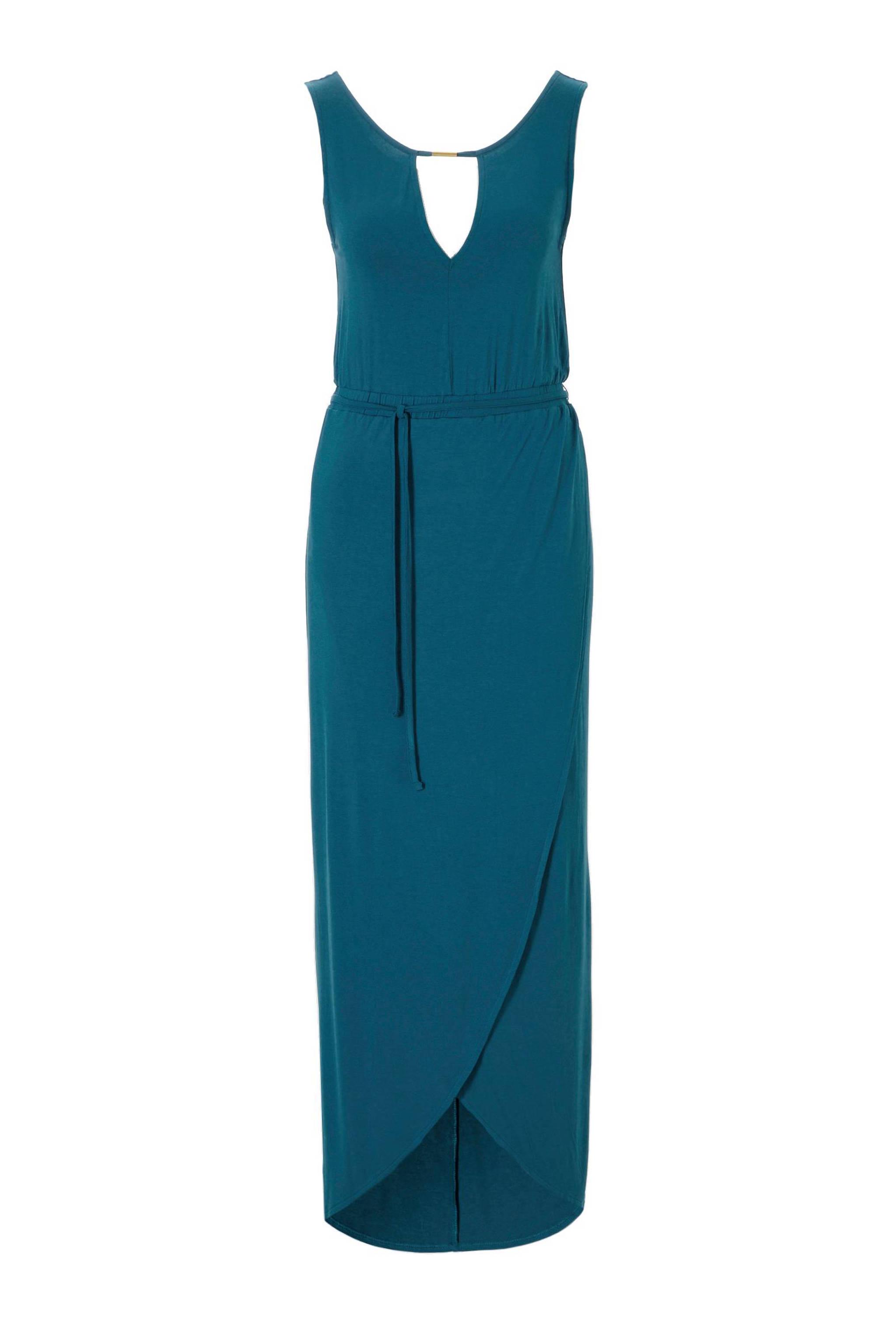 4e21ec23806057 whkmp s beachwave maxi jurk met wikkel-look