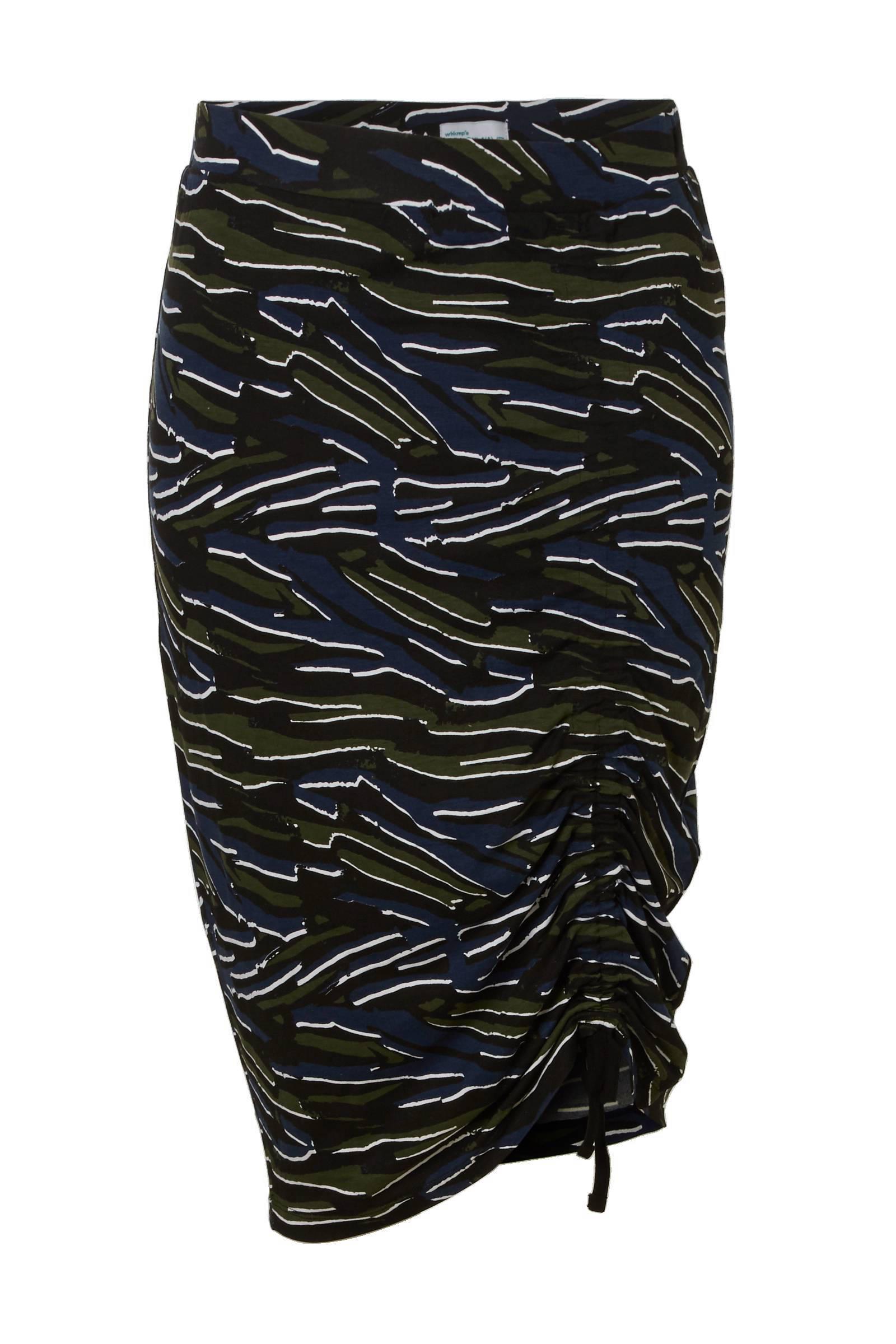 product afbeelding whkmp's beachwave jersey kokerrok met zebraprint (dames)