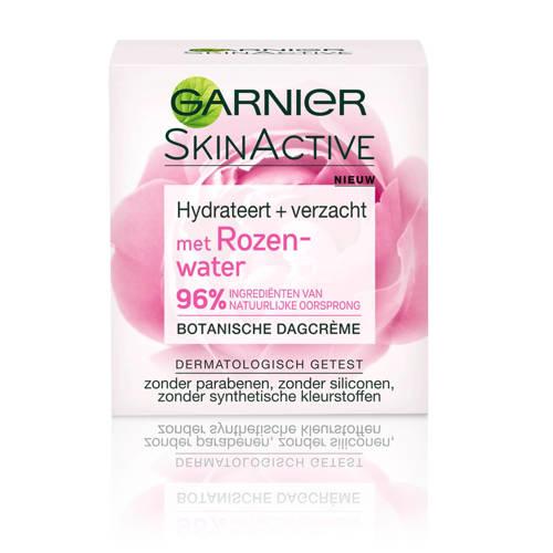 Garnier Skinactive botanische dagcrème met rozenwater - droge en gevoelige huid - 50ml - dagcrème
