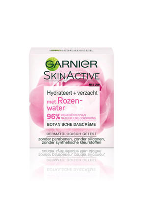 botanische dagcrème met rozenwater - droge en gevoelige huid - 50ml - dagcrème
