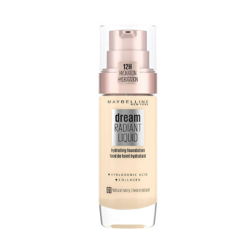 Maybelline New York  Dream Radiant Liquid Foundation- 1 Natural Ivory