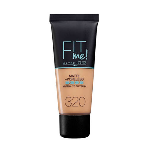 Maybelline Fit Me Matte & Poreless Foundation 30ml 320 Natural Tan