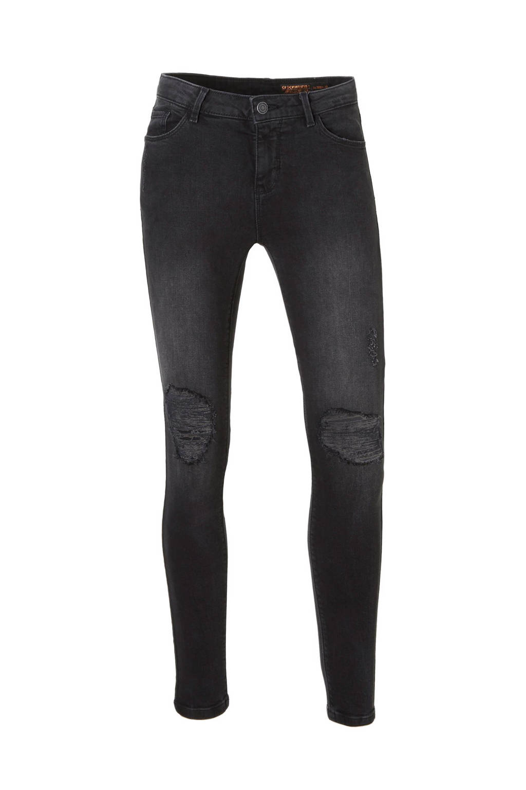 C&A Clockhouse super skinny fit jeans, Zwart