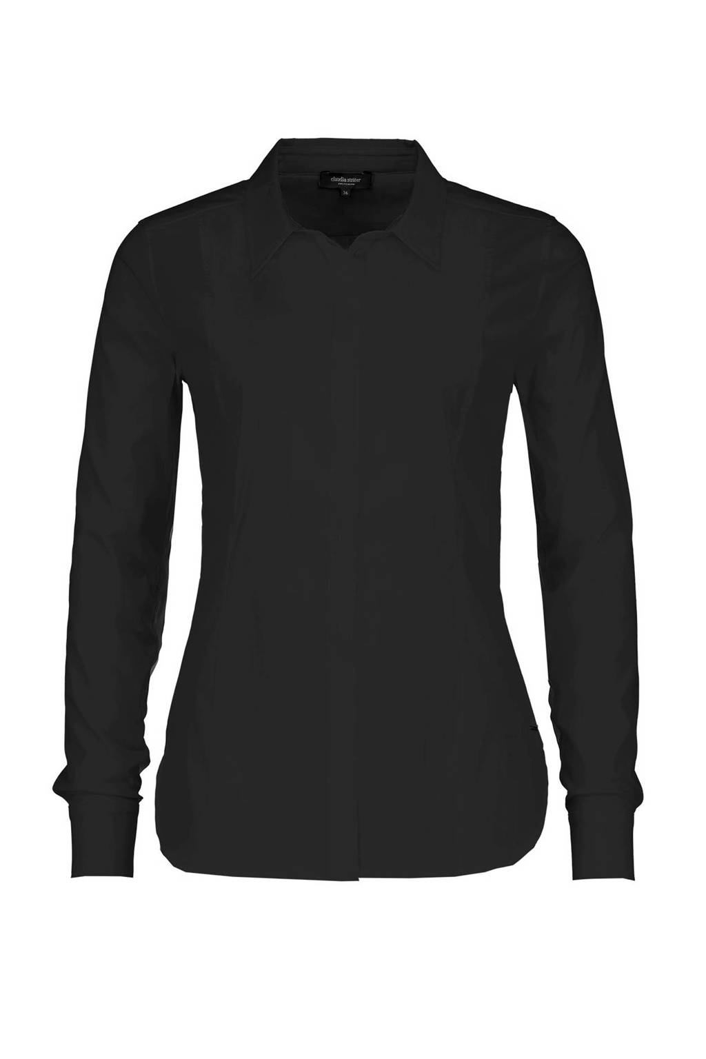 Claudia Sträter blouse, Zwart