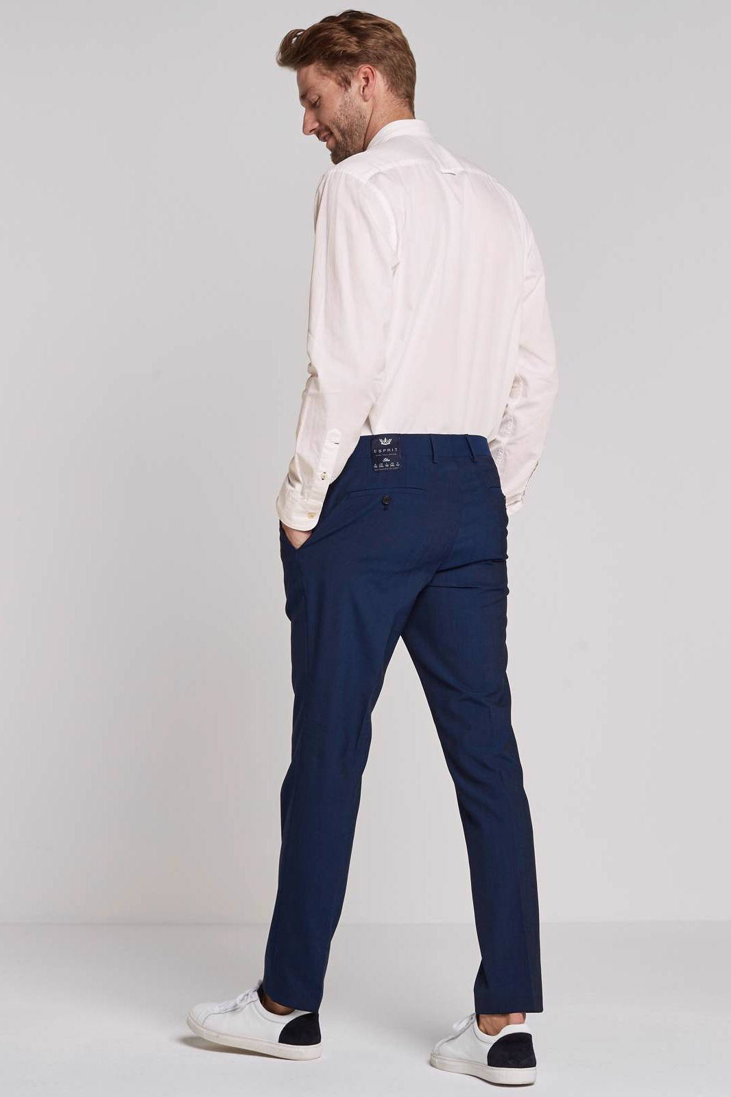 ESPRIT Men Collection slim fit pantalon | wehkamp
