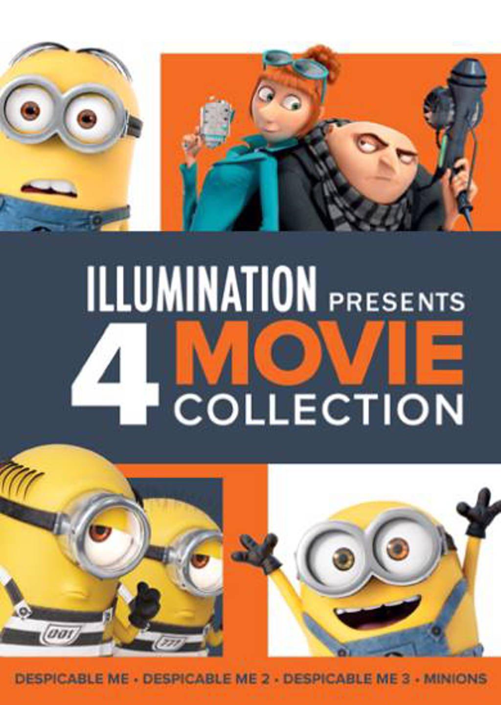 Verschrikkelijke ikke 1-3 & Minions (Despicable me 1-3 & Minions) (DVD)