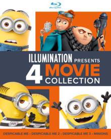Verschrikkelijke ikke 1-3 & Minions (Despicable me 1-3 & Minions) (Blu-ray)