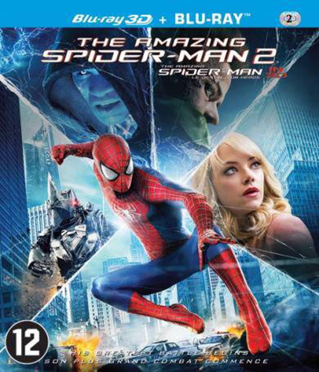 Amazing Spider-man 2 (3D) (Blu-ray)